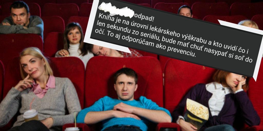 vtipné komentáre filmov