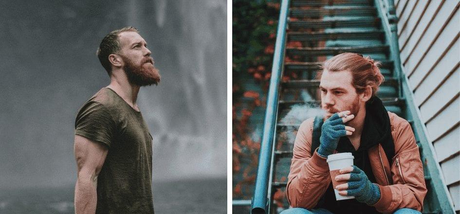 ryšavá brada