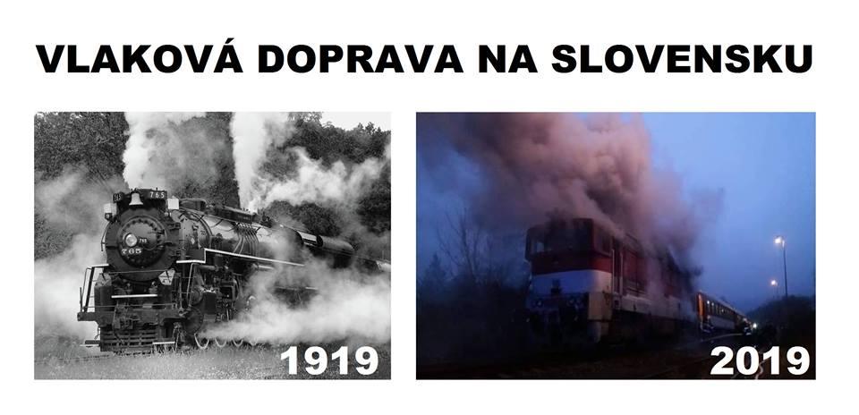 horiace vlaky